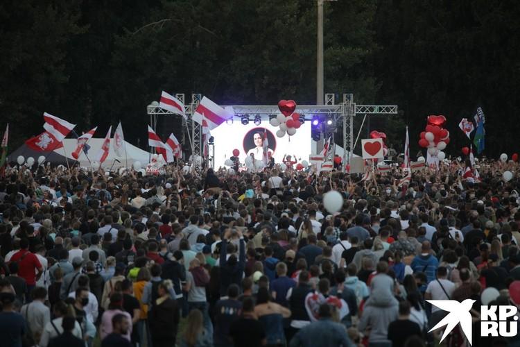 Митинг собрал небывалое количество людей.