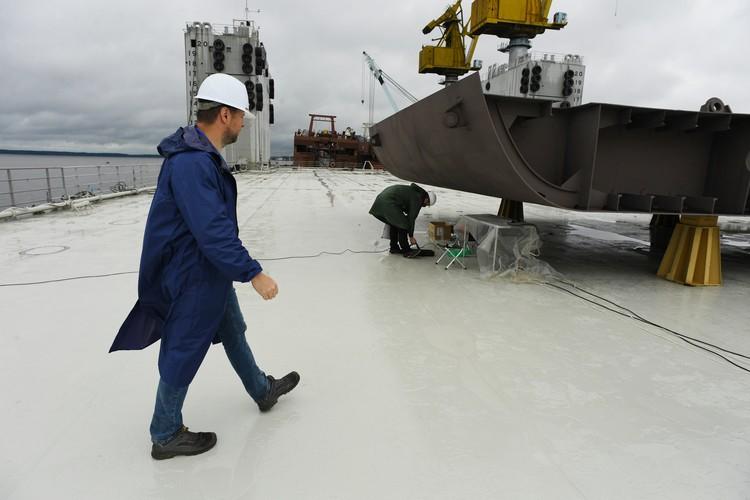 Пограничный сторожевой корабль 1 ранга «Пурга» имеет высокий ледовый класс.