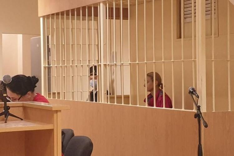 Марина Кохал отказалась признавать свою вину в убийстве мужа / Фото: Пресс-служба судов Петербурга