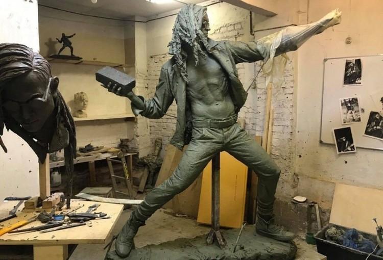 Скульптура, исполненная Михаилом Баскаковым, почти доработана. Фото: twitter.com/arkhlikbez