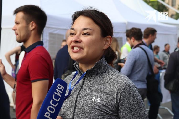 Ксения Шойгу установила личный рекорд: преодолела 21,1 км за 1 час 40 минут