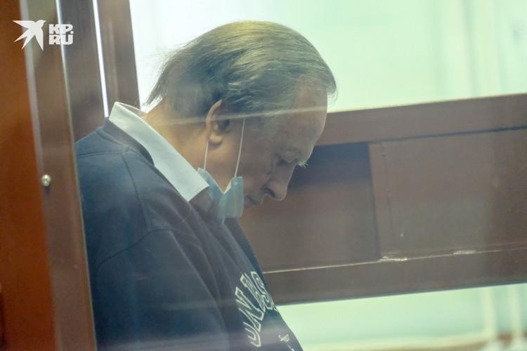 Соколов расплакался в суде