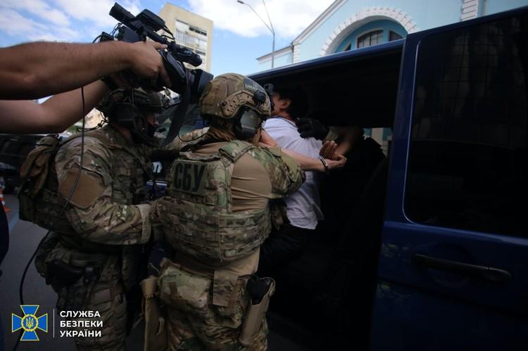 Никакого взрыва не произошло. Фото: Пресс-служба СБУ