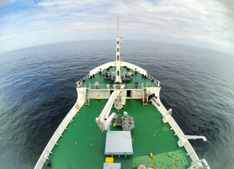 Судно привлекали для съемок «Титаника» и документальных фильмов Джеймса Кэмерона. Фото героя публикации.