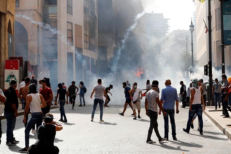 Это не стихийная акция: к массовым протестам ливанцев призывают лидеры оппозиционных партий