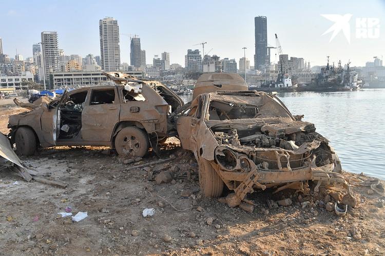 Взрыв, по сообщениям ливанских властей, спровоцировали сварочные работы