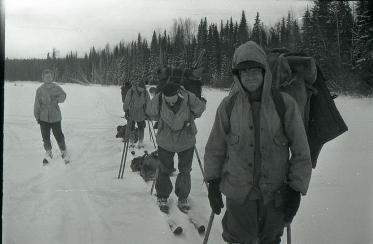 Зимой 1959 года в горах Северного Урала пропала группа туристов из девяти человек. Фото: из архива фонда памяти группы Дятлова.