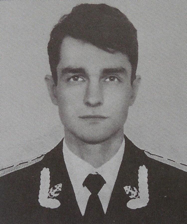 Капитан-лейтенант Олег Насиковский.