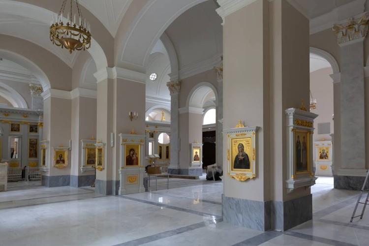 В храме все готово к его освящению. Фото предоставлено фондом «Созидающий мир».