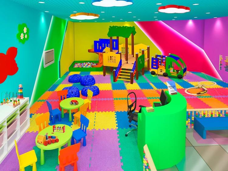 Детская игровая комната. Фото: пресс-служба торгового комплекса «Садовод»