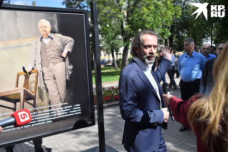 Машкову больше всего нравится Табаков в роли Обломова в фильме Никиты Михалкова.