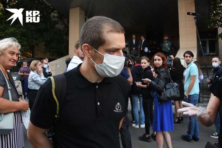 Старший сын погибшего запросил в своем гражданском иске с Ефремова 6,5 млн руб