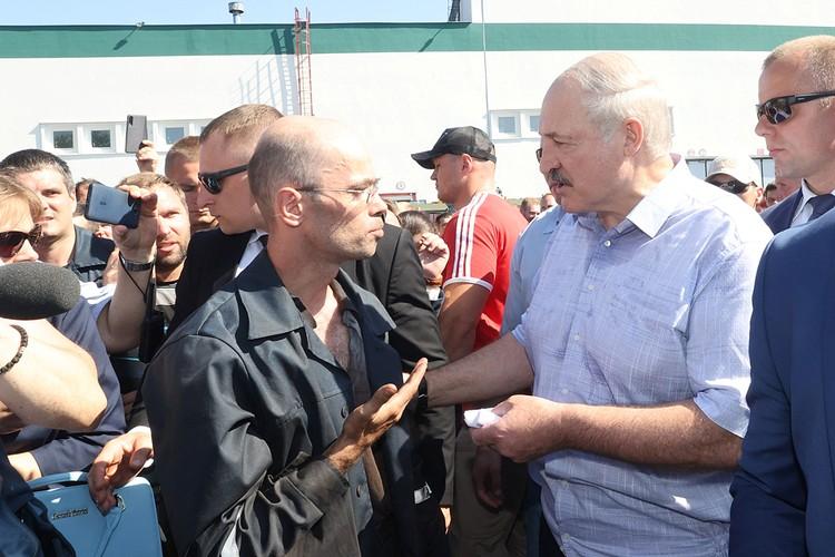 Лукашенко обратился к рабочим