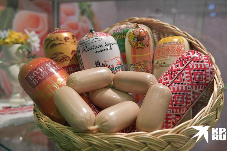 Но белорусские деликатесы потеснят российские продукты