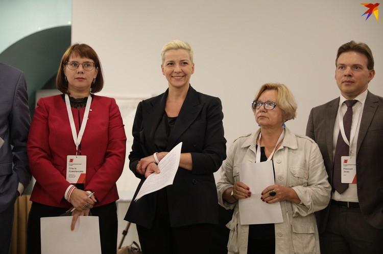 Представители Координационного совета рассказали о создании рабочих групп.