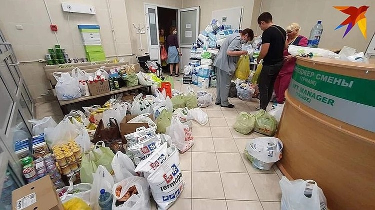 Медики БСМП благодарны волонтерам, которые привезли очень много. Фото предоставлено медиками