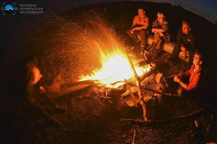 """И вот такие романтические арктические вечера. Фото предоставлено компанией """"Норникель"""""""