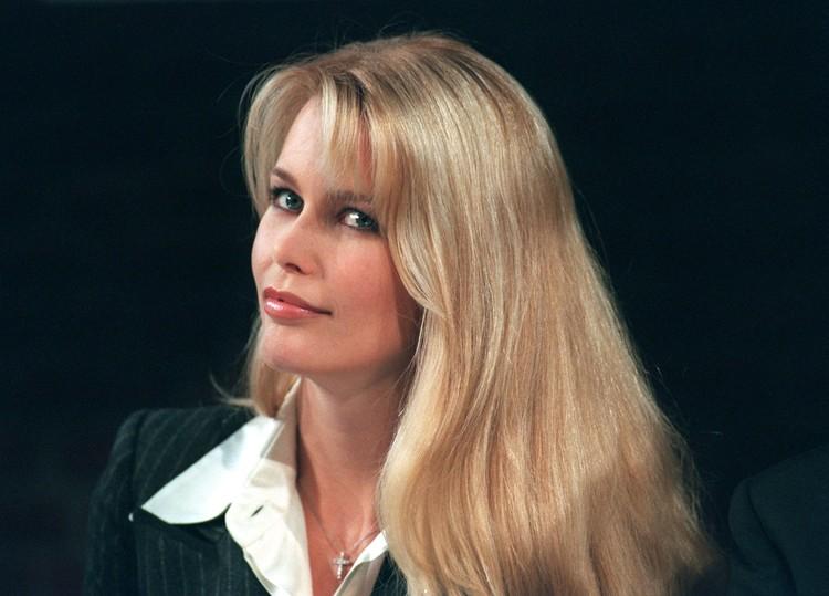 Клаудия Шиффер в 1997 году.