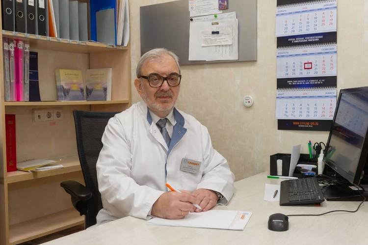 Врач психиатр-нарколог Евгений Робертович Рысин.
