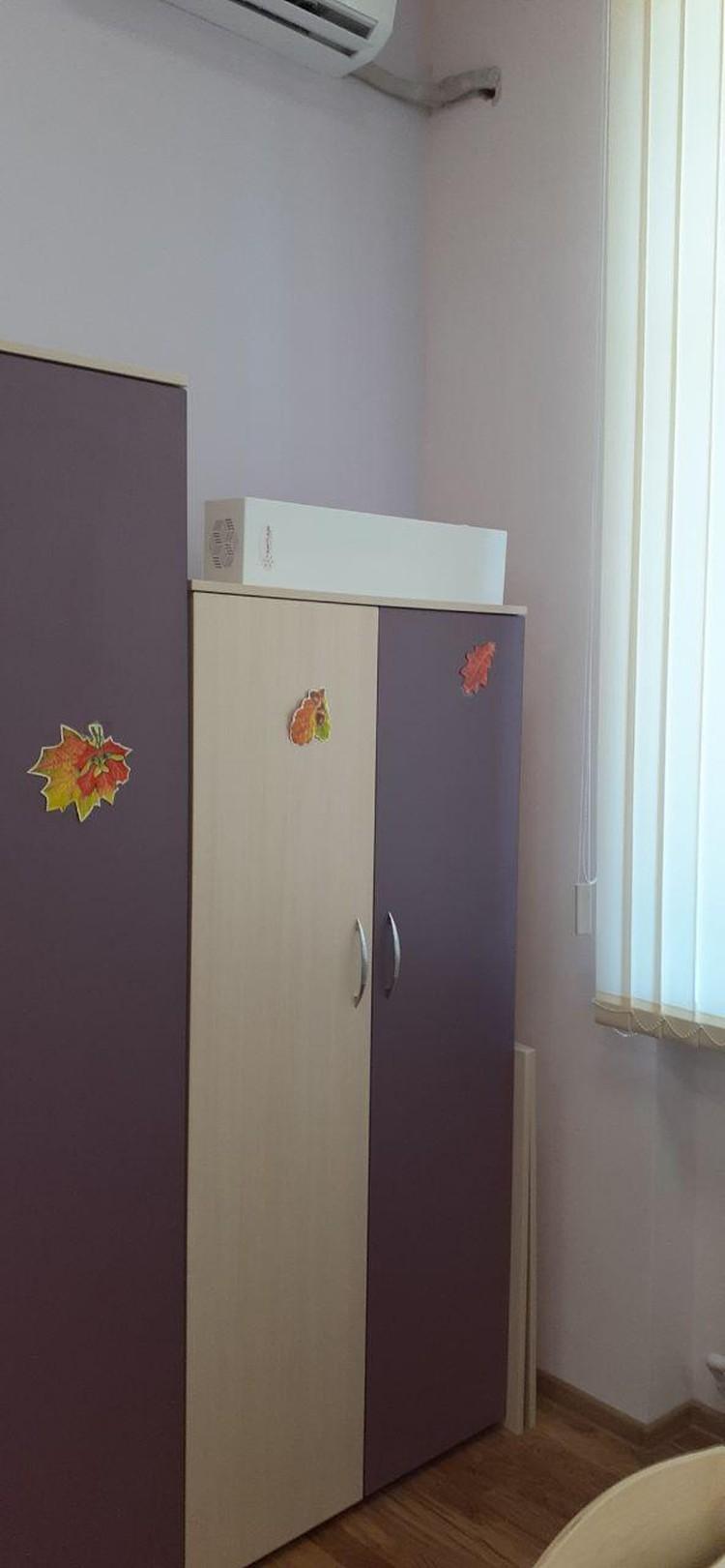 В каждом из классов установлены обеззараживатели воздуха