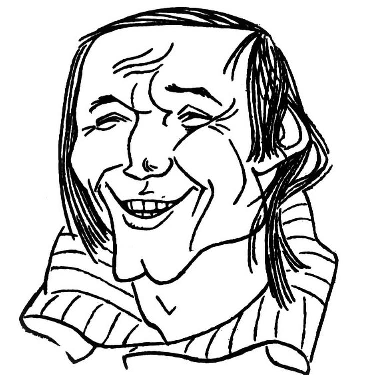 Владимир Некляев. Фото: шарж Кастуся Куксо