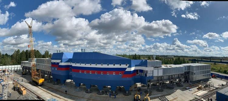 Новый комплекс антарктической станции «Восток» сделает проживание полярников комфортным. Фото: Предоставлено пресс-служба Минприроды