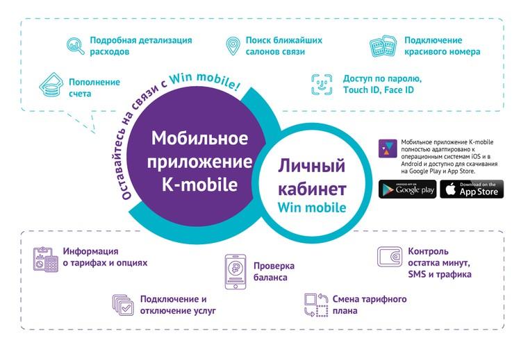 Возможности мобильного приложения Win mobile