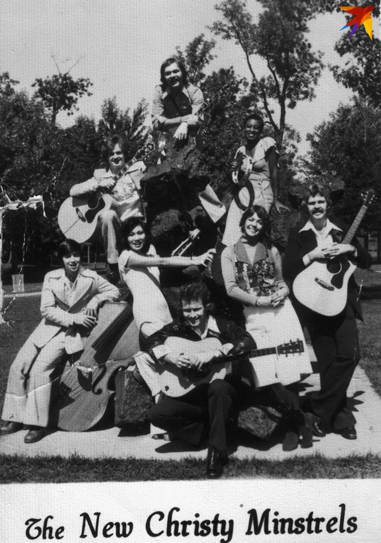 """C группой The New Christy Minstrels """"Песняры"""" колесили по югу США две недели. Фото: Архив Владислава Мисевича"""
