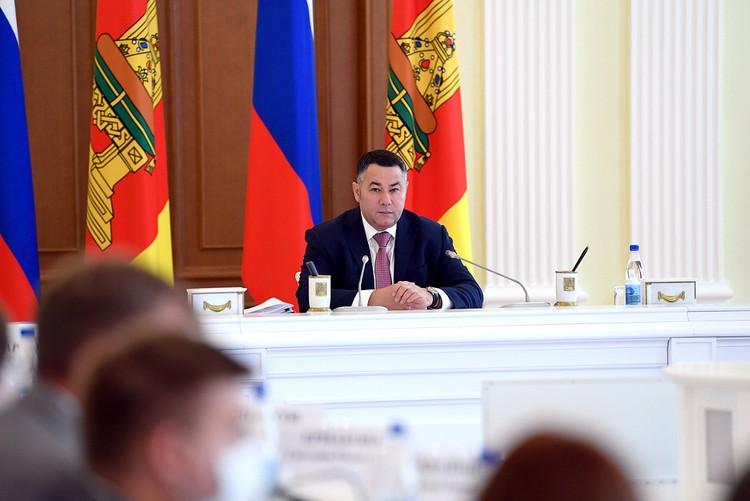 Игорь Руденя сказал, что необходимы дополнительные меры по повышению рождаемости и снижению смертности в регионе. Фото: ПТО