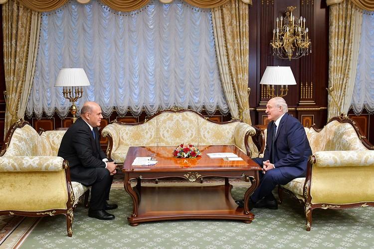 Главный спор, который вели между собой в последнее время Россия и Белоруссия, - цены на нефть и газ. Фото: Александр Астафьев/POOL/ТАСС