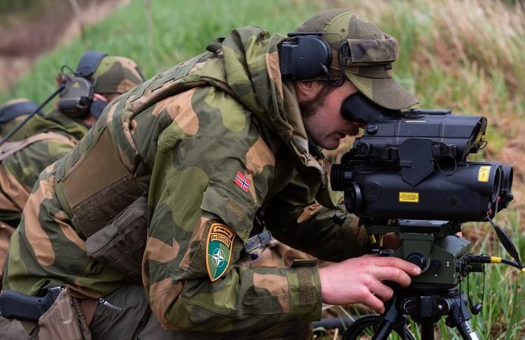 Норвежские солдаты во время учений в Литве, май 2020 г. Фото: NATO@Facebook