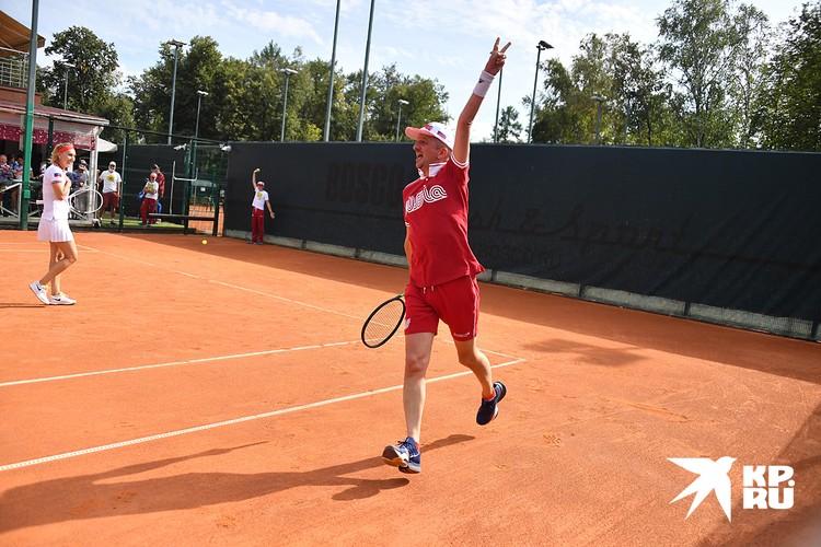 В первые выходные сентября Фонд «Друзья» провёл благотворительный теннисный турнир Bosco Friends Open