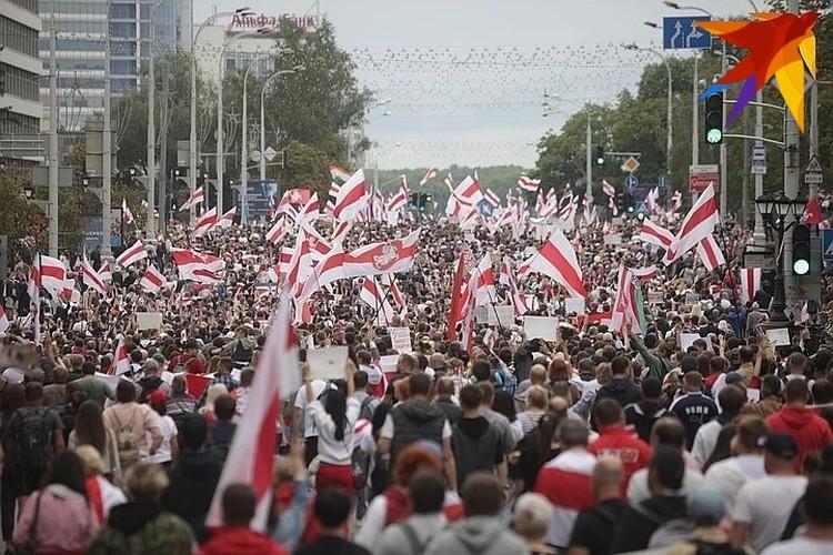 6 сентября в Минске прошла традиционная акция протеста. МВД предупреждало, что мероприятие несанкционированное.