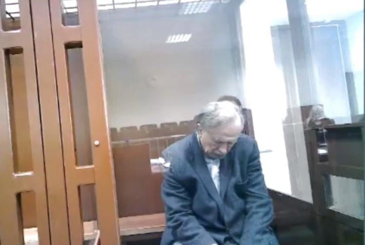 Иногда казалось, что Соколов спит Фото: объединенная пресс-служба судов Санкт-Петербурга