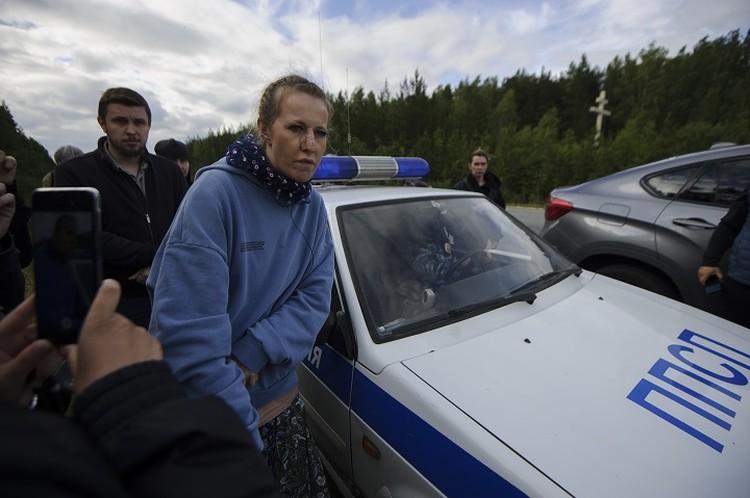 После визита на Урал Собчак выпустила документальный фильм о Среднеуральском монастыре
