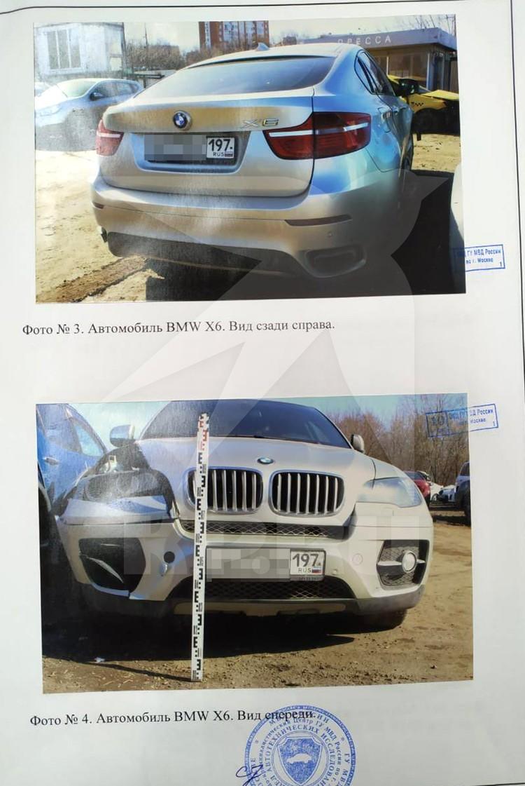 На фото Машина Юлии. Но кто же был за рулем?