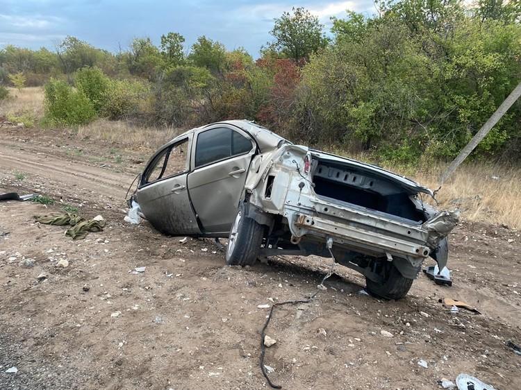 В машине никто не выжил.