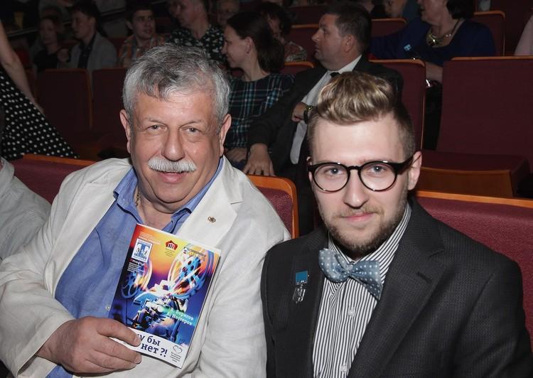 Михаил Борисов с сыном Вениамином