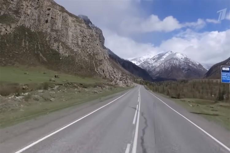 Чуйский тракт - самая длинная и главная дорога республики
