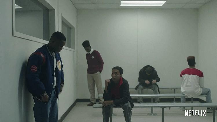 Кадр из сериала «Когда они нас увидят»