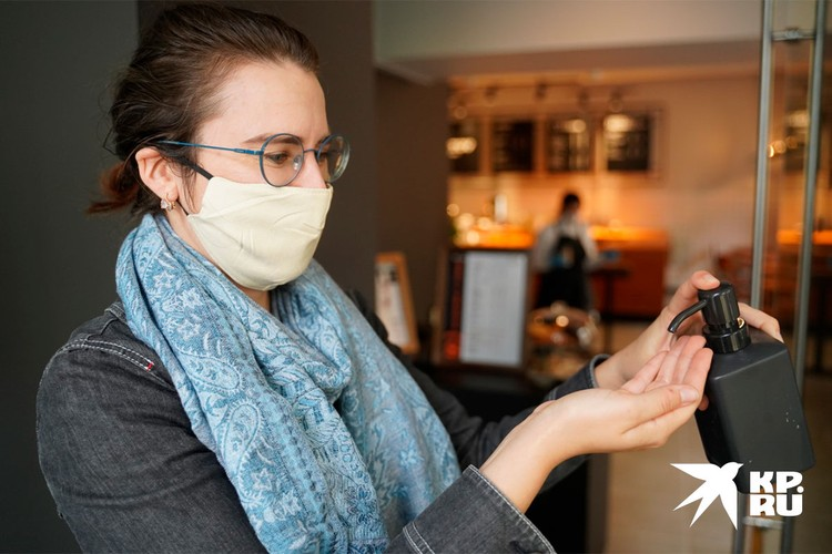Посетители также должны соблюдать противовирусные рекомендации
