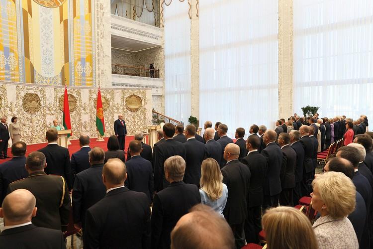 Инаугурация Александра Лукашенко стала полной неожиданностью для жителей Минска