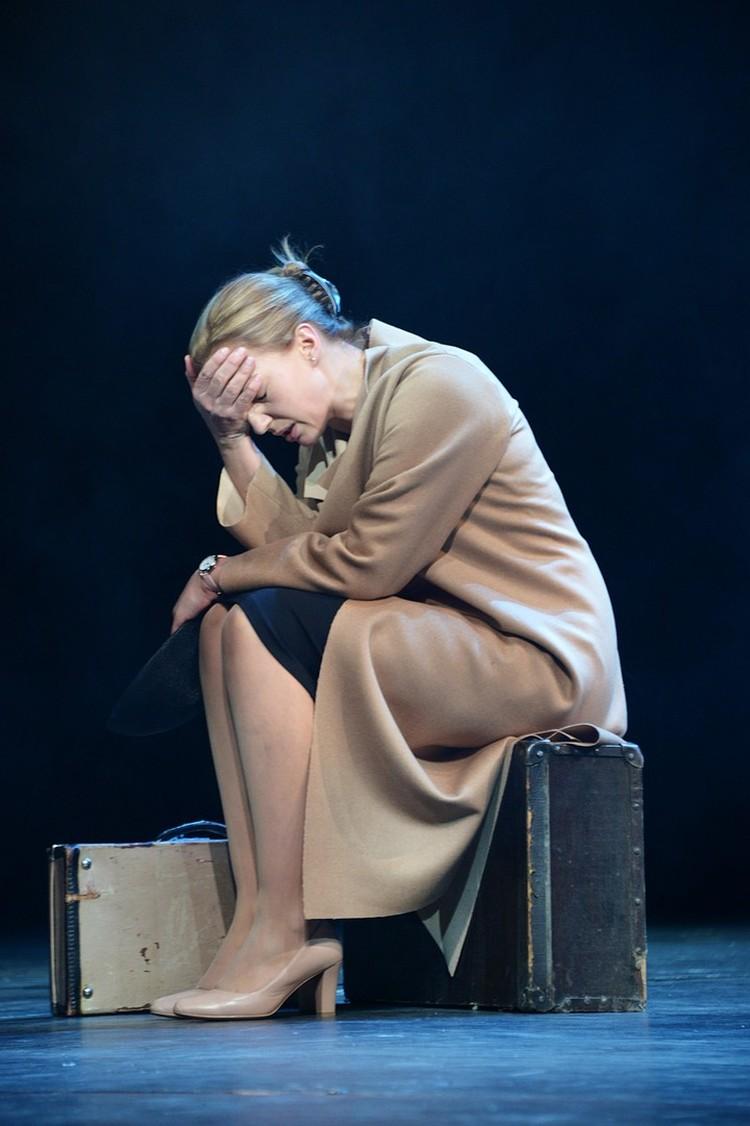 После расставания с Евгением Цыгановым Ирина вернулась на работу в Малый театр.