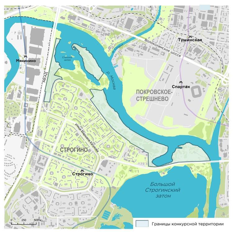 Для отдыха в Строгино обустроят участок площадью десяти парков «Зарядье»
