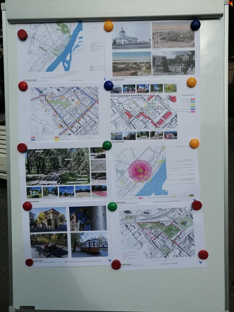 """Урбанисты Центра """"ВЯЗ"""" презентовали свои первые наброски будущего облика Горсада."""