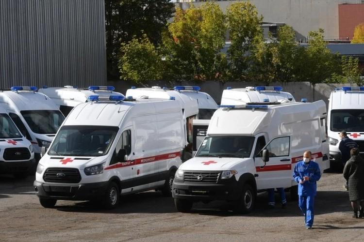 Удмуртия получила 22 новых санитарных автомобиля