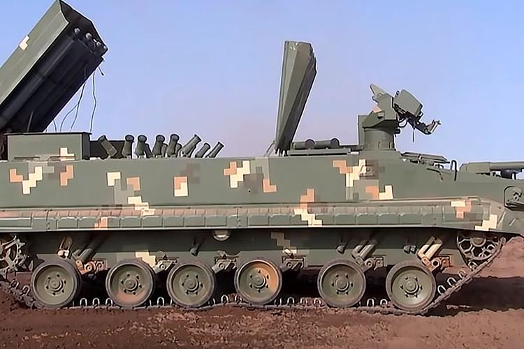 Реактивная установка разминирования УР-15 «Метеор».