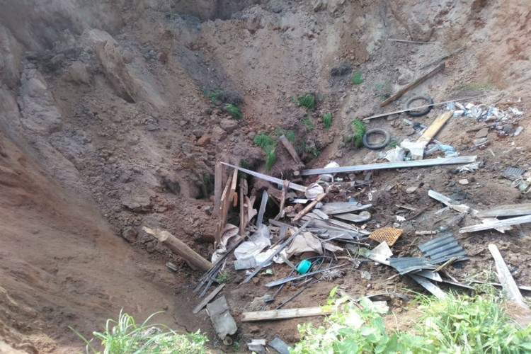 Инцидент произошел в ночь с 25 по 26 сентября. Фото: Госпожнадзор г. Вятские Поляны