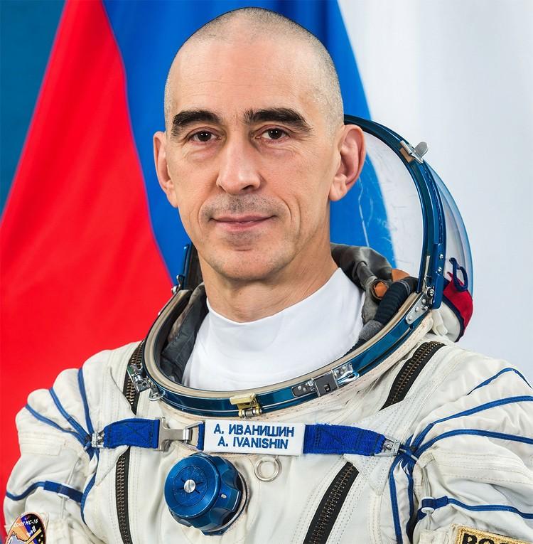 Летчик-космонавт Анатолий Иванишин. Фото: Роскосмос