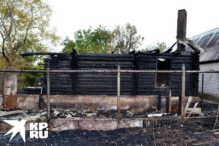 Последствия пожаров в Новоподклетном.